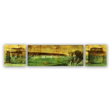 Ado Den Haag schilderij 3 luik