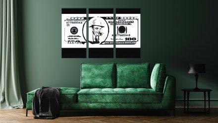 Al Capone 3 luik schilderij