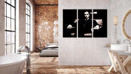"""Al Pacino """"Godfather"""" 3 luik schilderij"""