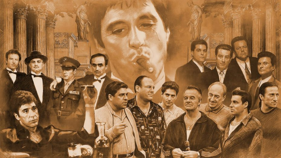 All Gangsters - New Style schilderij