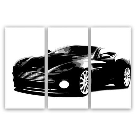 Aston Martin 3 luik schilderij