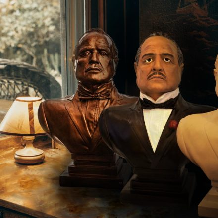 Borstbeelden Vito Corleone