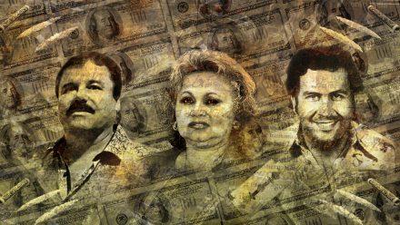 El Chapo, Blanco, Escobar schilderij