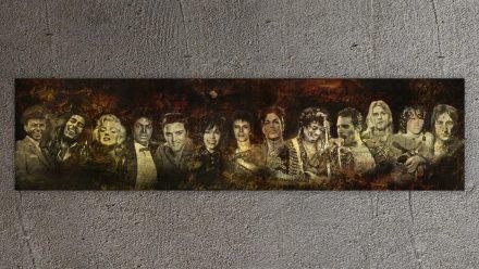 Dead Stars schilderij