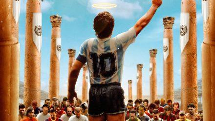 Diego Maradona voetbal schilderij