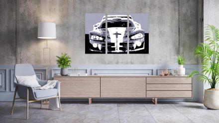 Dodge Viper 3 luik schilderij