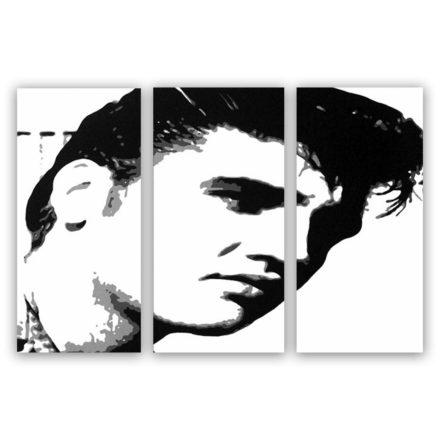 Elvis Presley 3 luik schilderij