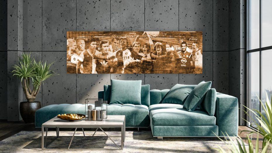 De Feyenoord Iconen schilderij