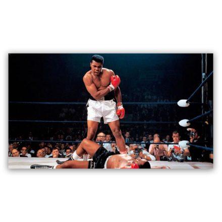 "Ali vs Liston ""Final Moment"" schilderij"