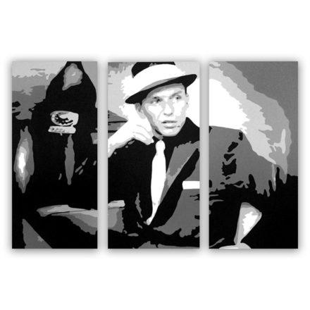 Frank Sinatra 3 luik schilderij