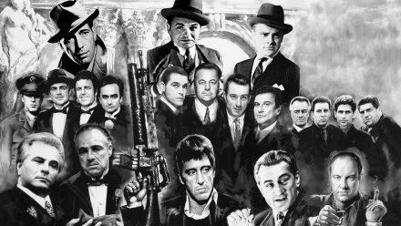 Gangster New Last Supper schilderij
