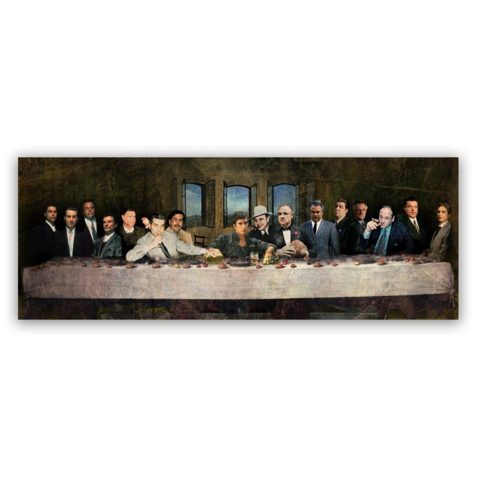 Maffia's Laatste Avondmaal schilderijl