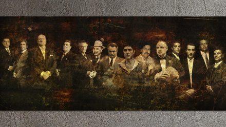 Gangsters Line-Up Extra schilderij