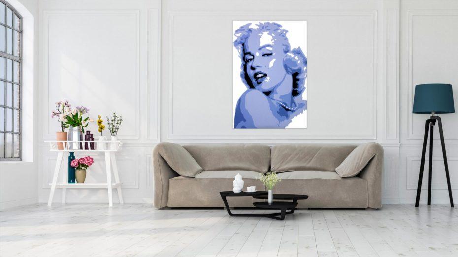 Marilyn Monroe 1 luik schilderij