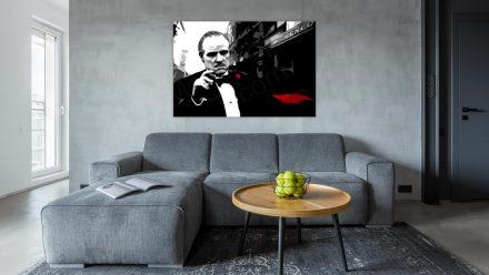 "Marlon Brando ""Godfather"" 1 luik schilderij"