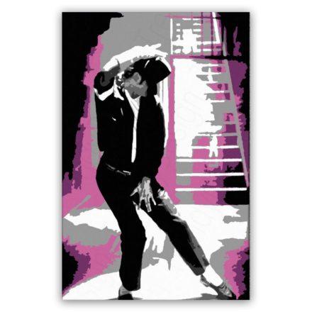 Michael Jackson dance 1 luik versie 2 schilderij