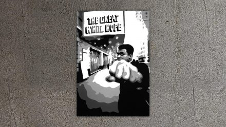 Mike Tyson schilderij – Ali Promotie canvas schilderij