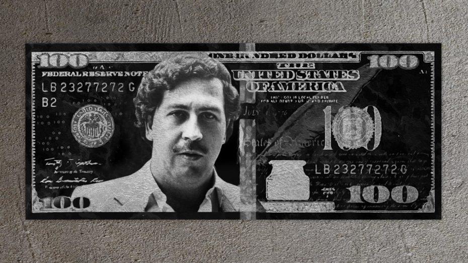 Pablo Gold/Silver 100 Dollar schilderij