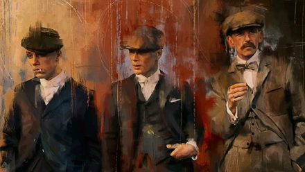 Peaky Blinders paintings Style schilderij