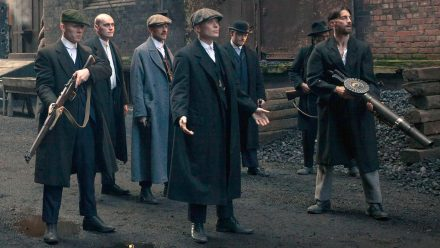 Peaky Blinders Line-Up schilderij