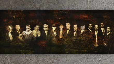 Hollandse Penoze, Escobar, Godfather schilderij