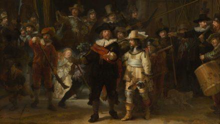 De Nachtwacht schilderij