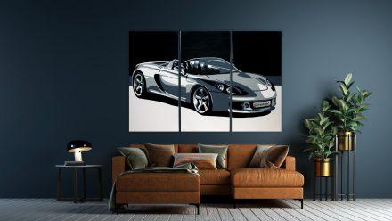 Porsche Carrera 3 luik schilderij