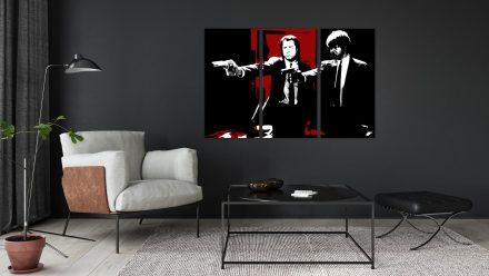 Pulp Fiction 3 luik schilderij