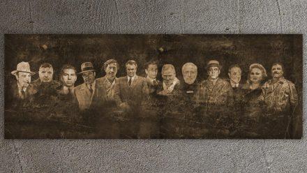 Real Gangsters schilderij