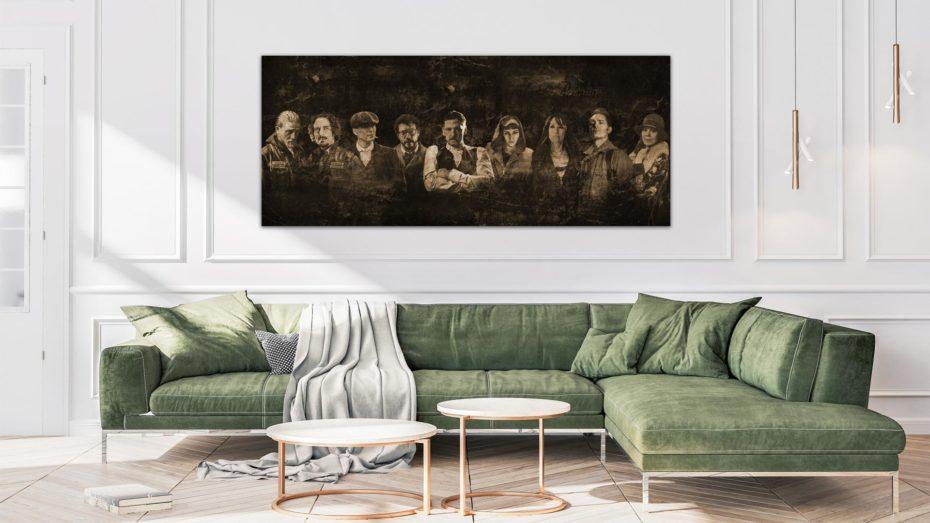 Sons/Casa/Peaky The Mix schilderij