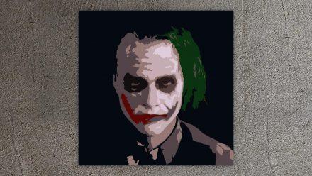 The Joker 1 luik schilderij