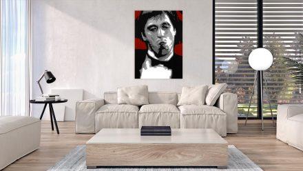 "Tony Montana ""Scarface"" 1 luik schilderij"