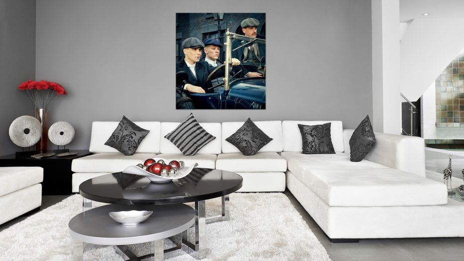 Peaky Blinders Brothers schilderij