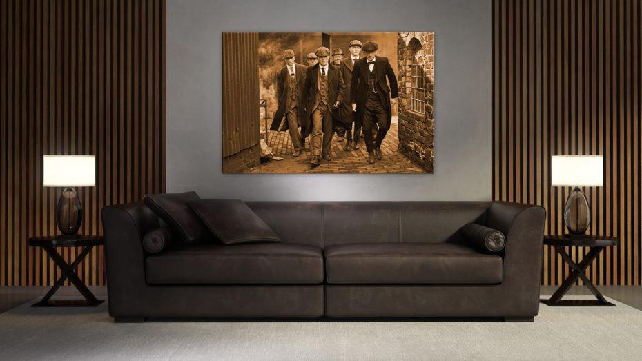 Peaky Blinders Gang schilderij