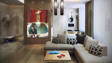 Tony Montana/ Scarface The World Is Yours schilderij