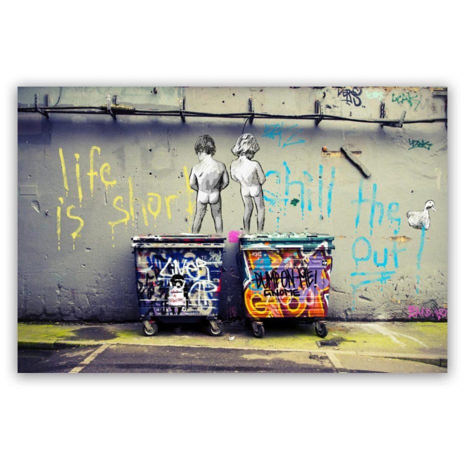 Banksy Life Is Short