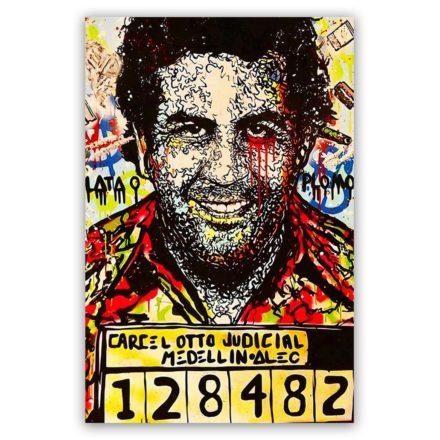 Pablo escobar jail schilderij