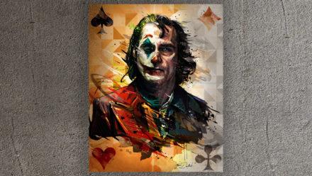 Joker art schilderij