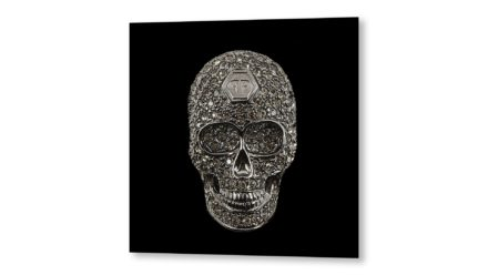 Black skull schilderij