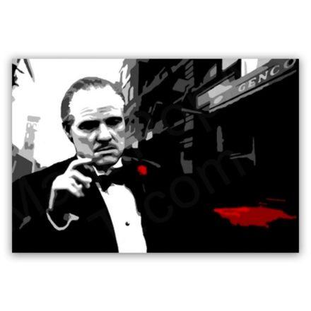 Marlon Brando Godfather schilderij