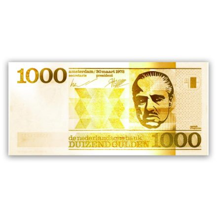 godfather 1000 gulden schilderij