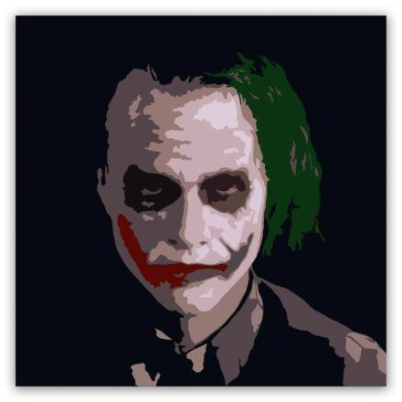 joker 1 luik schilderij popartschilderijen