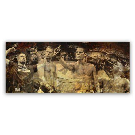Nate Diaz UFC schilderij