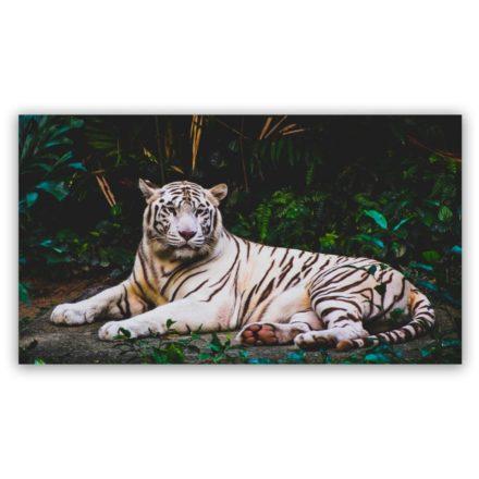 white tiger schilderij