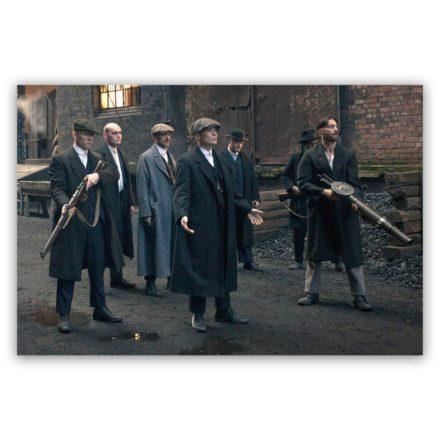 Peaky Blinders Line-Up schilderij