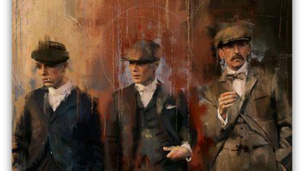 Peaky Blinders paintings Style