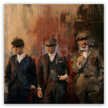 Peaky Blinders paintings Style schilderij