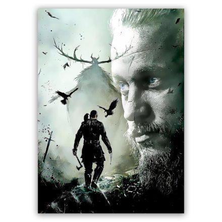 Vikings Ragnar schilderij