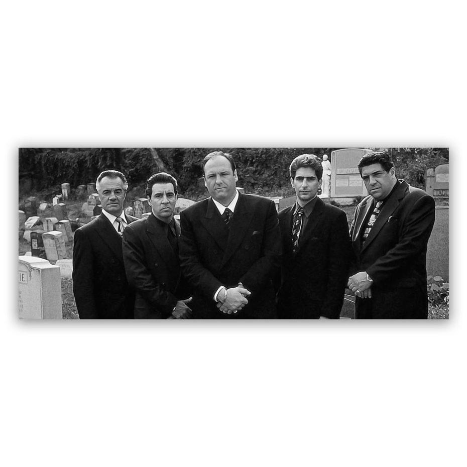 Sopranos-Gang-150x60-BW-groot